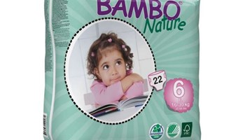 Bambo dječje pelene