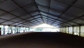 Šator 1200m2 za konjičke sportove