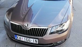 Škoda Superb 2,0 Tdi dsg F1