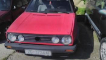 VW Golf II 1.6 TD,odjavljen,cijena je na ime kupca