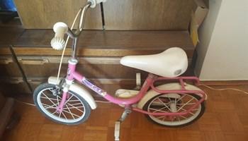 Dječji ženski bicikl
