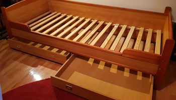 Drveni krevet VOX safari 90x200 cm