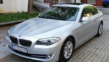 BMW serija 5 2.0d XENON,WEBASTO, ŠIBER, NAVIGACIJA.. SERVISNA KNJIGA OD PRVOG DANA