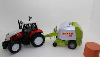 Traktor s balirkom POWER 320 MAX!!! Extra VELIKO- 70 cm!!