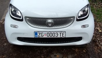 Smart fortwo coupe, kao nov, prilika