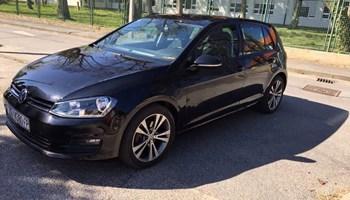 VW Golf VII 1.6 TDI BMT Comfortline-ful-op-mod-2014-reg-4-20-1.vl-servisna-100-tkm-navi-alu17-radar-top stanje-10.700€