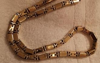 Zlatni lanac 244 grama 14k 585 žig zamjena za teži lanac