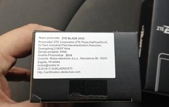 ZTE BLADE A530, NOVO, RAČUN GARANCIJA