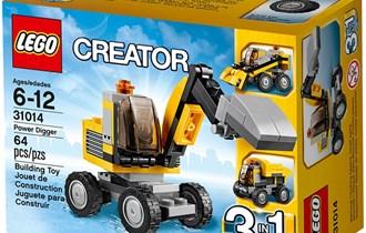 LEGO 31014-1: Power Digger