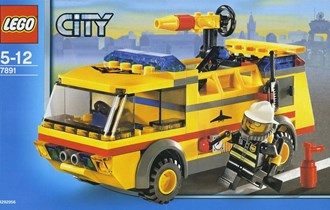 LEGO 891-1: Airport Fire Truck