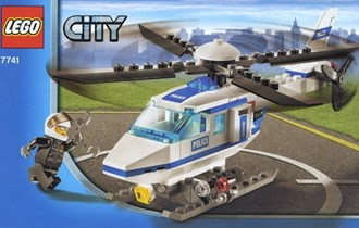 LEGO 7741-1: Police Helicopter