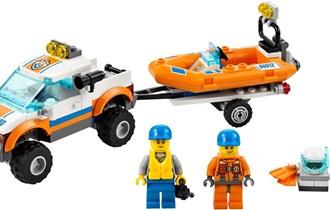 lego 60012-1: Coast Guard 4x4 & Diving Boat