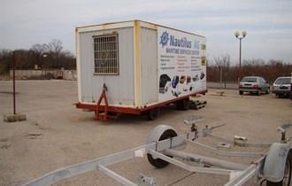 prikolica za prijevoz kontejnera