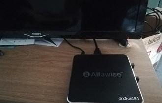 Android tv box  Alfawise A8 TV BOX Rockchip 3229 Android 8.1 - Black EU Plug