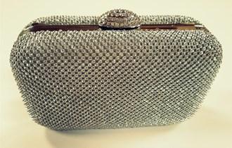 Clutch torbica od cirkona - NOVO