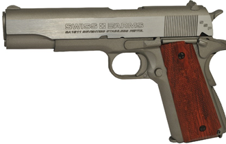 SWISS ARMS 1911 SEVENTIES STAINLESS ZRAČNI PIŠTOLJ