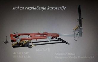 Stol za istezanje karoserije ( autolimarski stroj )