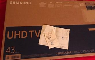 Ne korišten⭐️SAMSUNG 43 UHD 4K Smart TV NU7192⭐Top ponuda!
