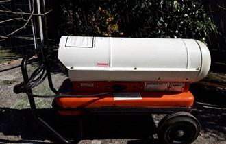 Uljni grijač zraka, 18 kW/60.000 Btu