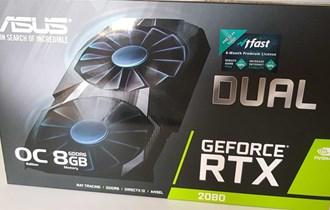 Nvidia GeForce RTX 2080 OC DUAL 8GB Zapakirano NOVO