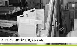 Euro Tim d.o.o. - Radnik u skladištu (M/Ž) - 1 radnik - Zadar
