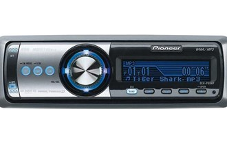 Pioneer DEH-P80MP, radio, WMA/MP3, cd player