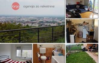 BORČEC - dvosobni stan, vrt, 2 vpm, spremište - 61.77 m2