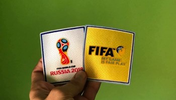 Fifa, Russia 2018 bedž naljepnice za dres