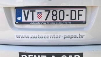 NAJAM VOZILA, RENT A CAR, VIROVITICA