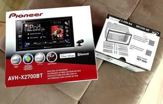 PIONEER AVH-X2700BT (Bluetooth, USB, CD, DVD, iPhone/iPod)