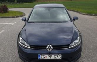 VW Golf VII 1,6 TDI  xenon, velika navigacija