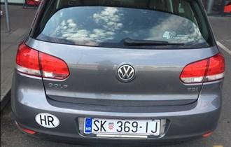 VW Golf VI 1,6 tdi , 2010,