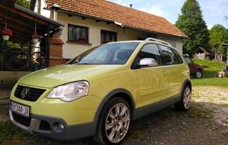 VW Polo CROSS 1.4 TDI 07 god. 1 vlasnik**106.830 KM**KLIMA,TOP STANJE