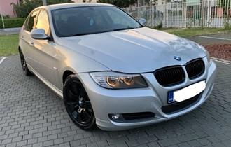 ••BMW E90 320D LCI BLACK,REDIZAJN 2011G,SERVISNA,REG 11/2019, START STOP,ALU 17 ///M FULL••