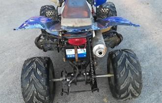 Yamaha raptor 150ccm