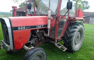 TRAKTOR IMT 565, 1987.g.