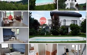 KUSTOŠIJA GORNJA - troetažna kuća s bazenom 240 m2, parcela 1229 m2
