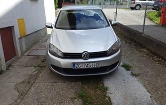 VW Golf VI 1.4 benz rate karticama reg.6.2020.g.zamjena