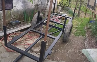 Kareta za drva/prikolica