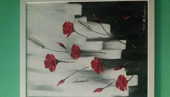 Umjetnička slika makovi
