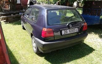 VW Golf III 1. 9 D