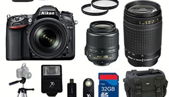 Nikon D7100 + battery grip