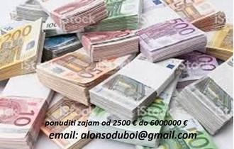možete dobiti iznos od 2000€ do 600.000.000€