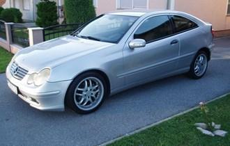 Mercedes-Benz C-klasa Coupe 200 CDI-MOŽE ZAMIJENA !!!!