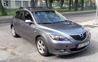 Mazda 3 1.6 i TE Sport-mod-2005-reg-7-2020-siva met-1.lak-1vl-servisna-kao nova-akcija-3400€