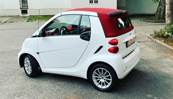 Smart fortwo cabrio hybrid passion
