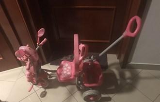 Bicikl djecji roza za 1-3 godine