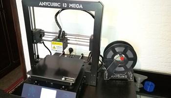 3D Printer Anycubic I3 Mega +1KG PLA plastike