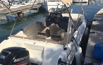 Rent a boat _ Quicksilver Activ open 555