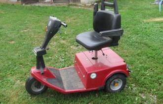 Elektro vozilo trokolica skuter batricar